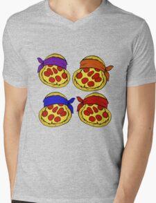 TMNT Pizza  Mens V-Neck T-Shirt
