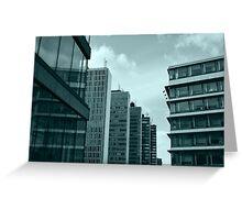 Office Buildings Greeting Card