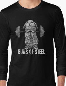 Buns of Steel (Dark) Long Sleeve T-Shirt