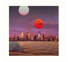 New Tatooine Art Print