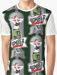 Bomber Babes Derby Team Graphic T-Shirt