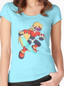 The Red Mega Man Women's Fitted Scoop T-Shirt