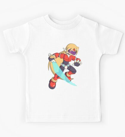 The Red Mega Man Kids Tee