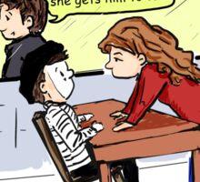 Interrogation Sticker