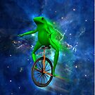 dat boi space shirt (high resolution) by flashman