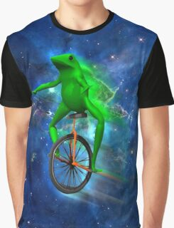 dat boi space shirt (high resolution) Graphic T-Shirt