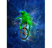 dat boi space shirt (high resolution) Photographic Print