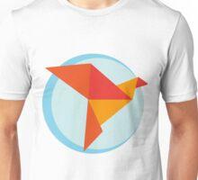 Origami bird #2 Unisex T-Shirt