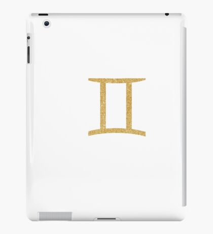 Gemini iPad Case/Skin