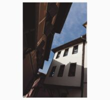 Sun and Shade - Elegant Revival Houses in Old Town Plovdiv, Bulgaria - Vertical One Piece - Short Sleeve