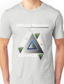 Official Member of the Star Trek Wars Council Transparent Background Unisex T-Shirt