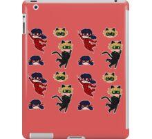 Miraculous Ladybug chibis iPad Case/Skin