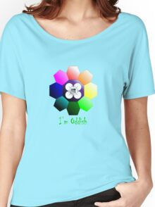 Rainbow Badge - I'm Oddish Women's Relaxed Fit T-Shirt