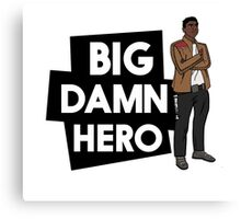 Big Damn Hero Canvas Print