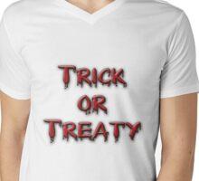 Trick or Treaty - Special-Tee Mens V-Neck T-Shirt