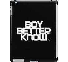 BBK | Boy Better Know iPad Case/Skin
