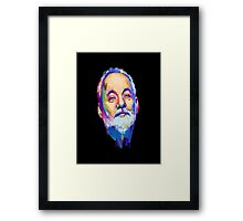 a colorful character Framed Print