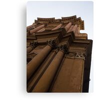 Architecture in Rome, Italy - One of Over 900 Churches in the City Canvas Print