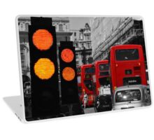London Traffic Reds Laptop Skin