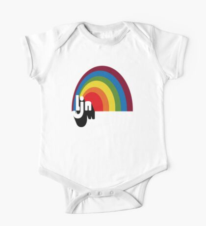 Vintage LJN Rainbow Logo  One Piece - Short Sleeve