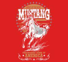 Mustang Baby Tee