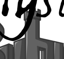 Mystic Suburb Logo Sticker