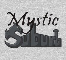Mystic Suburb Logo One Piece - Short Sleeve