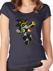 Shard the Metal Sonic Women's Fitted Scoop T-Shirt