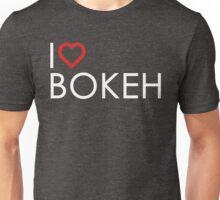 "I ""Heart"" Bokeh Unisex T-Shirt"