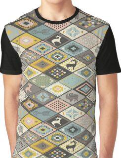 Navajo motif Graphic T-Shirt