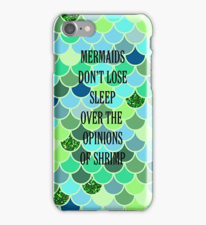 Mermaid's Don't Lose Sleep iPhone Case/Skin