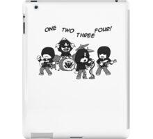 1, 2, 3, 4! iPad Case/Skin