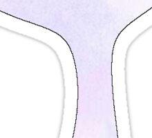 Watercolor Mermaid Tail Sticker