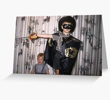 Found Photo Halloween Card - Zorro Greeting Card