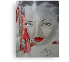 BEAUTIFUL INDONESIAN WOMAN/ SKETCH Canvas Print
