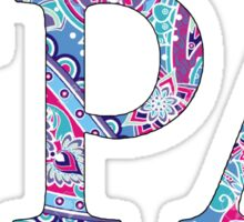 Gamma Rho Lambda Sticker