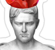 Greek Bust Exploding Head Sticker