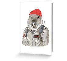 Bill-Hog Greeting Card