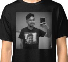me wearing me Classic T-Shirt