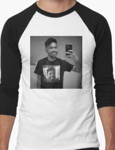 me wearing me Men's Baseball ¾ T-Shirt