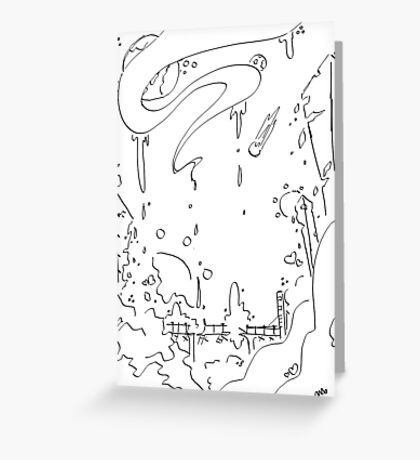 Ink City Greeting Card