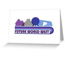 Future World West Greeting Card