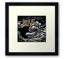 drive by truckers black wulan Framed Print
