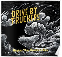 drive by truckers black wulan Poster