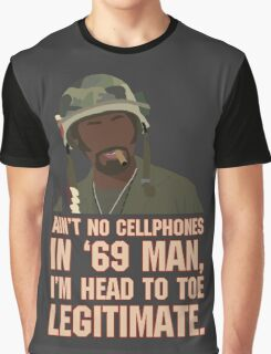 Ain't no cellphones in '69 man... Graphic T-Shirt