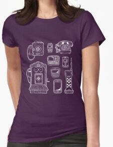 Game Of Phones Womens Fitted T-Shirt