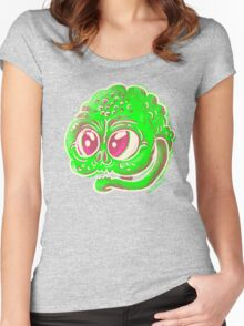 Goblin Face Women's Fitted Scoop T-Shirt
