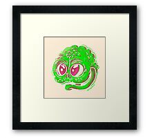Goblin Face Framed Print