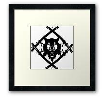 Xavier Wulf Framed Print