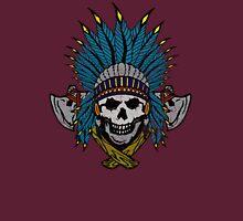 Indian Skull Head dress Unisex T-Shirt